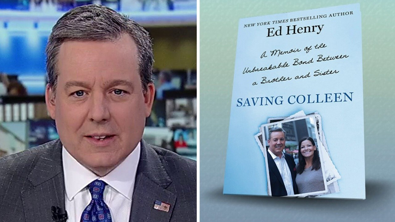 Ed Henry unveils cover of new book 'Saving Colleen'