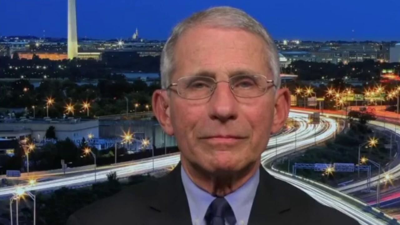 Dr. Fauci: I believe China about coronavirus stats