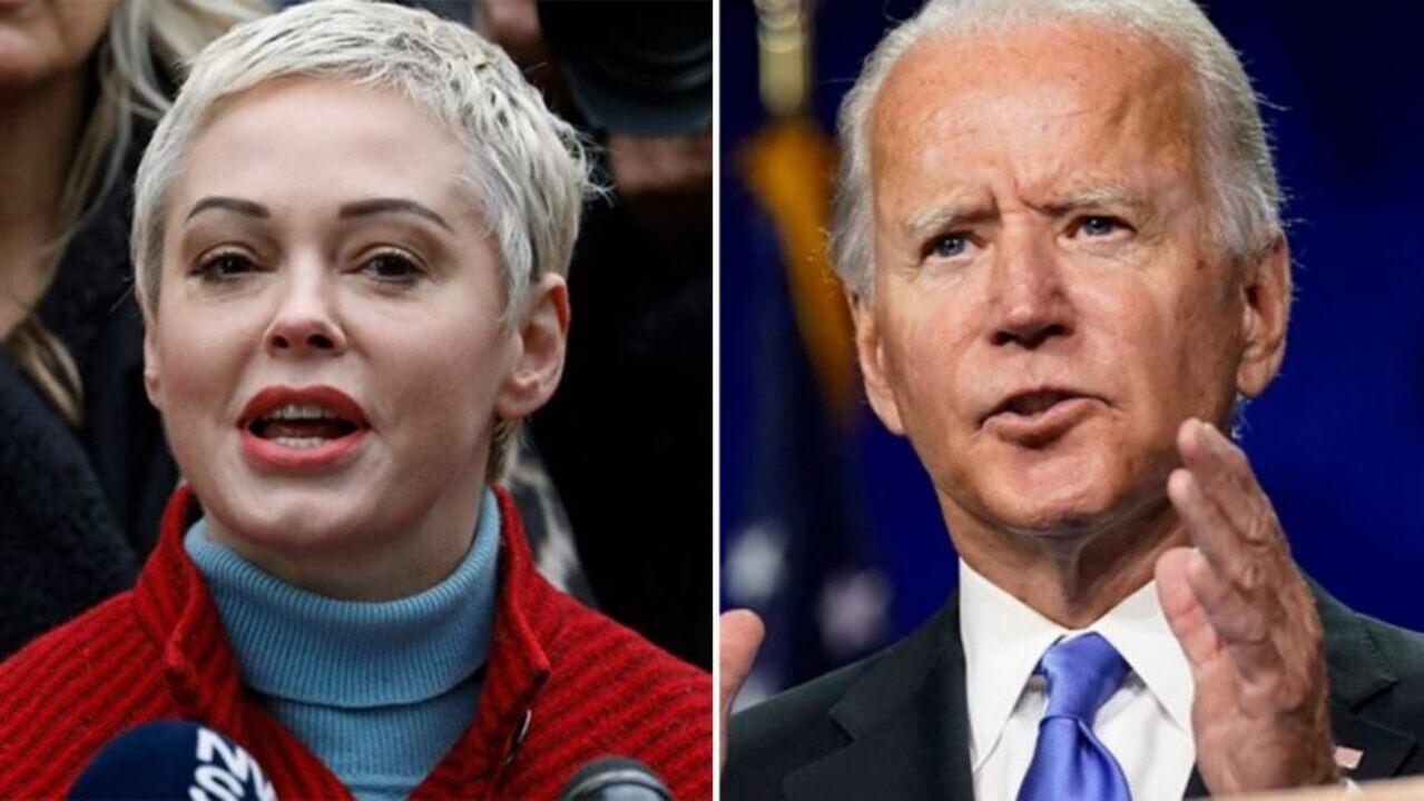Rose McGowan attacca Joe Biden e i Democratici