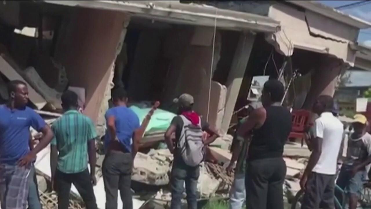 At least 227 dead after powerful 7.2 magnitude earthquake rocks Haiti