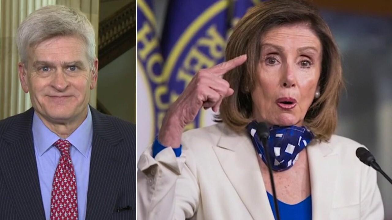 Sen. Bill Cassidy: Pelosi is fulfilling a 'left-wing agenda,' it's 'garbage'