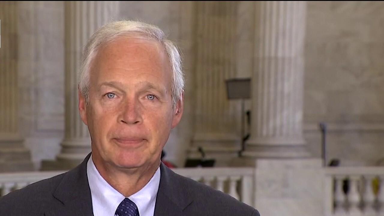 Sen. Ron Johnson: 'Democrats must be held accountable in November 2022'
