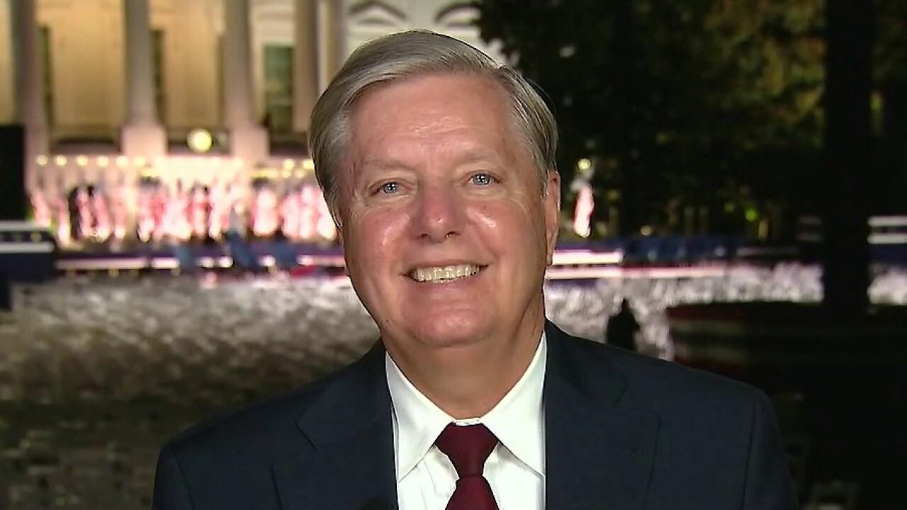 Sen. Lindsey Graham praises President Trump's 'unapologetic view of America'