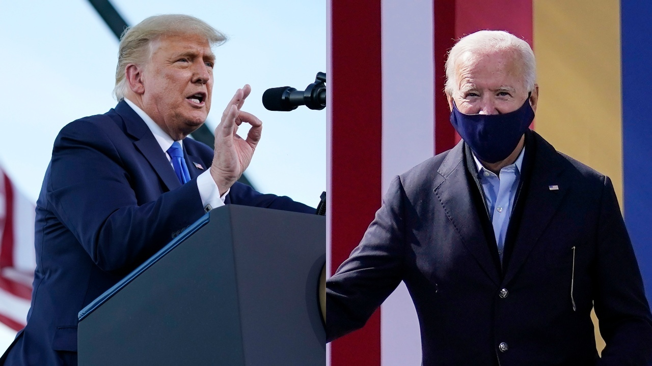 Trump, Biden campaign in battleground states