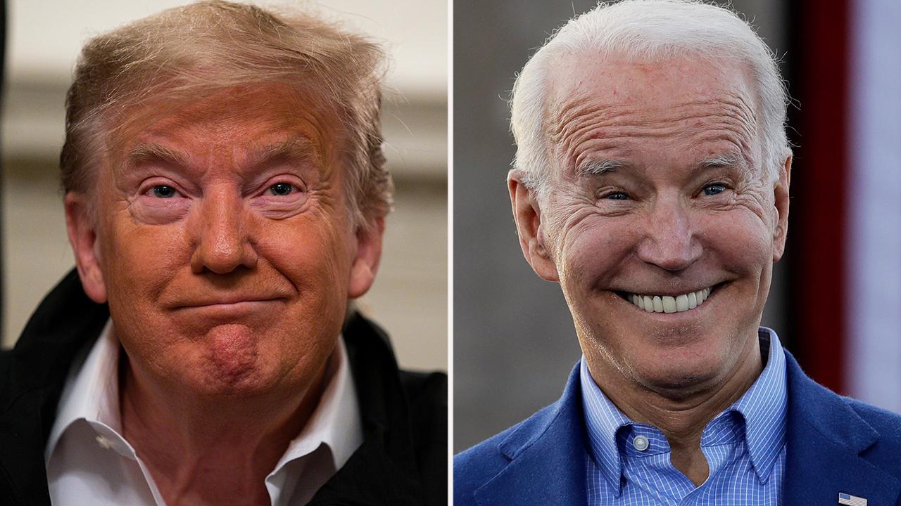 Biden tempers attacks on Trump as coronavirus crisis builds