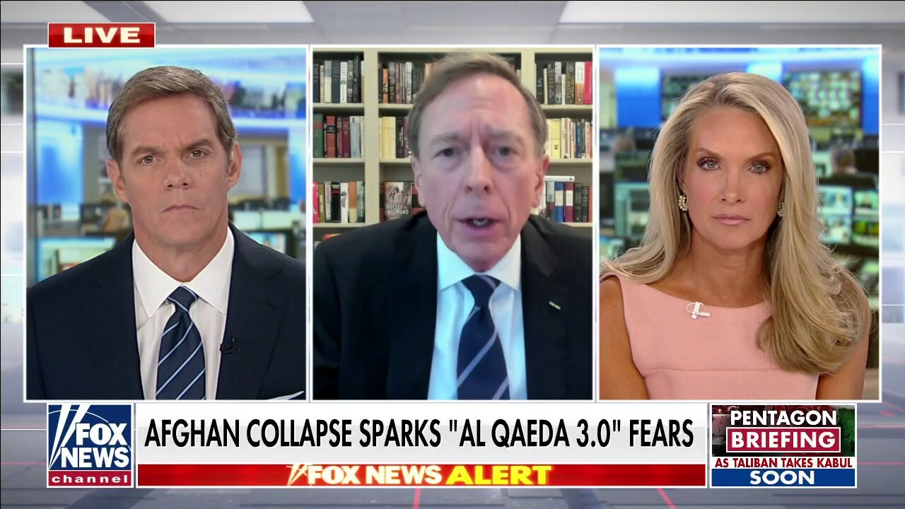 Petraeus: Biden was not in 'straightjacket' from Trump policies, could have changed course on Afghanistan