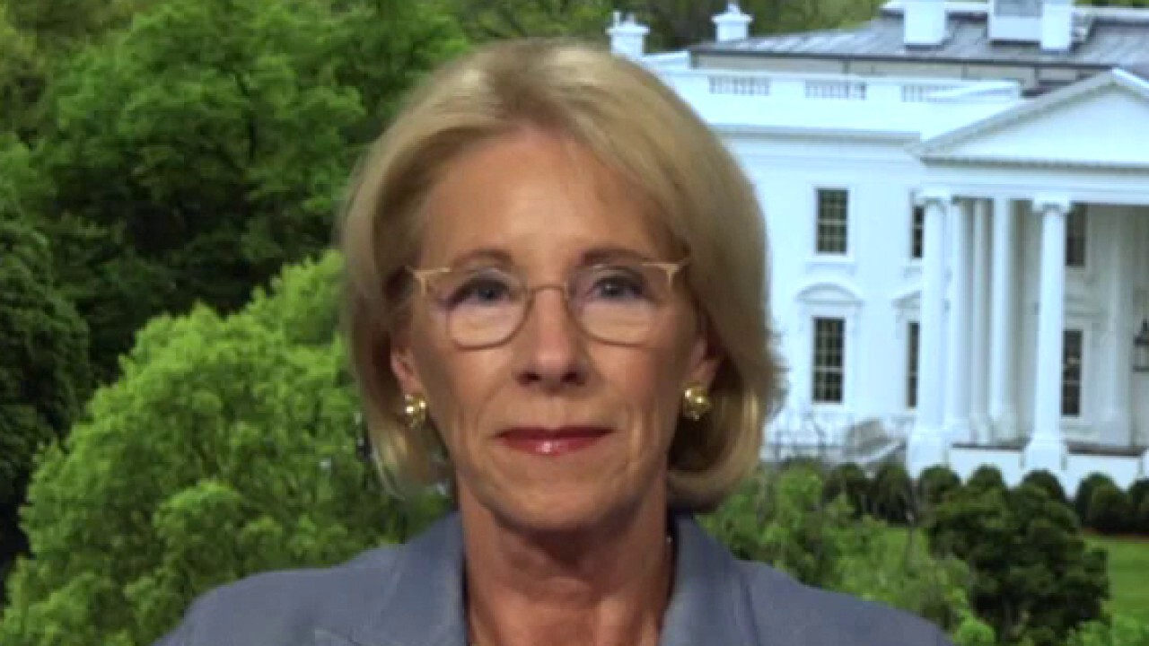 Education Secretary Betsy DeVos addresses concerns over reopening schools on 'The Story.'