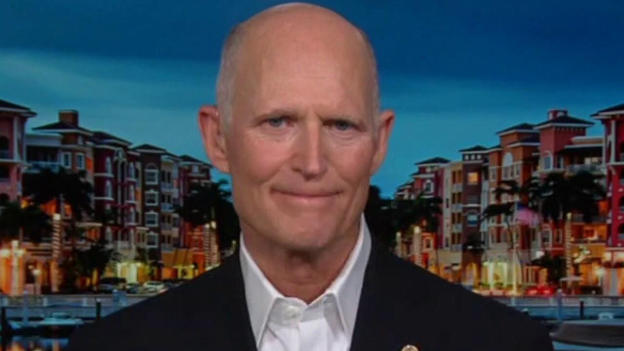 Scott: Biden COVID bill 'makes no sense,' just a 'payback to the liberal left'