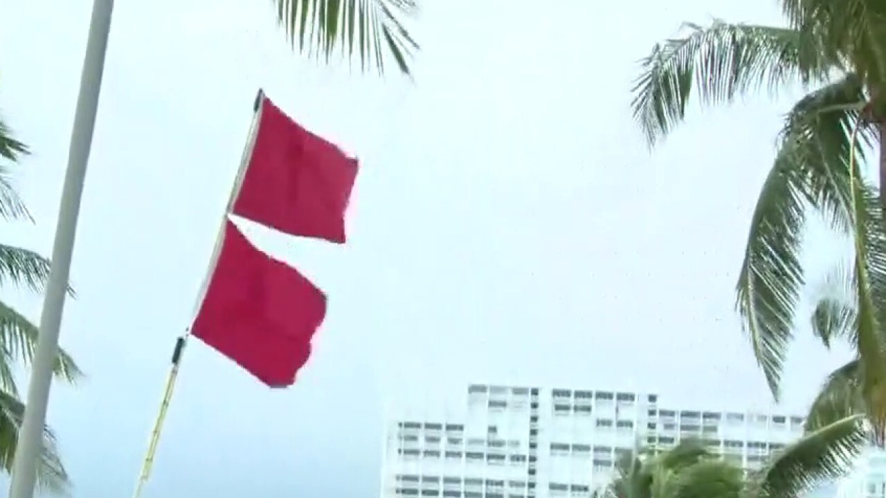 Red flag warnings in Fort Lauderdale as Hurricane Isaias churns toward Florida