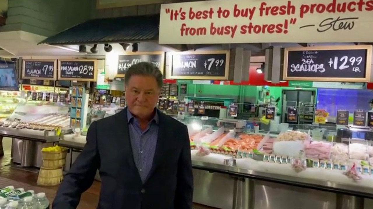 Grocery store owner on coronavirus pandemic's impact on supply