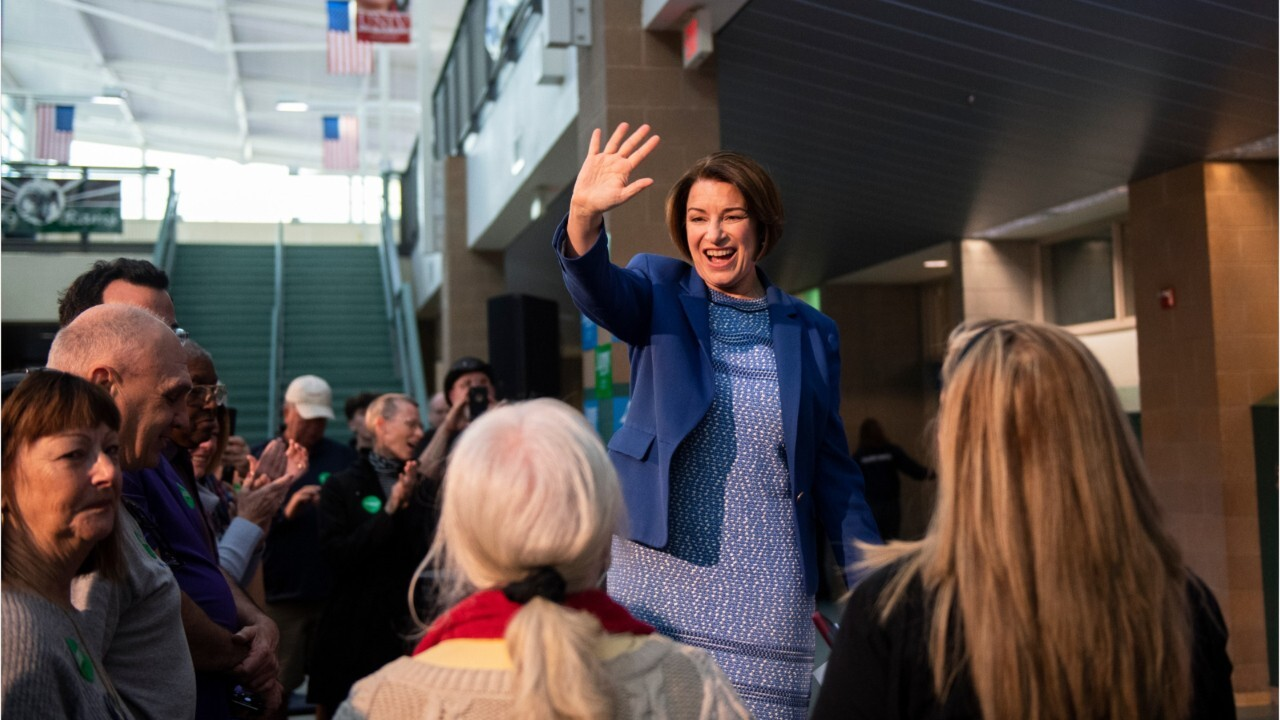 Westlake Legal Group image Justin Haskins: Amy Klobuchar's support for the socialist Green New Deal proves she's no moderate Justin Haskins fox-news/topic/green-new-deal fox-news/politics/2020-presidential-election fox-news/person/amy-klobuchar fox-news/opinion fox news fnc/opinion fnc article 5c1942d2-39e7-5663-b9f4-6f358d938847