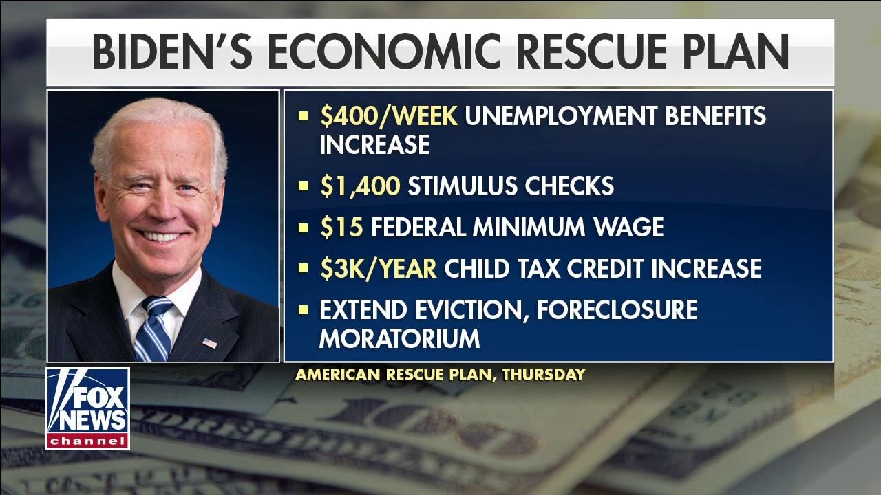 Biden's $1.9T COVID-19 economic rescue plan a spending free-for-all?
