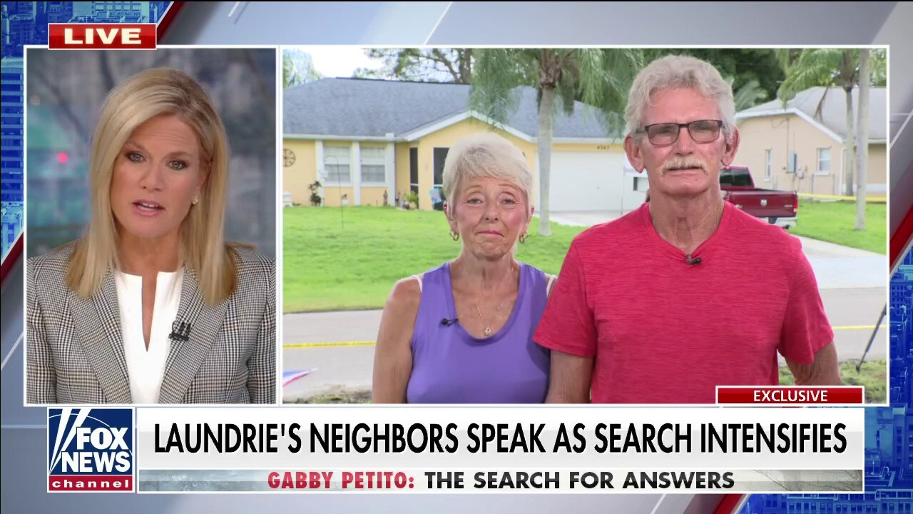 Brian Laundrie's neighbors speak out amid investigation