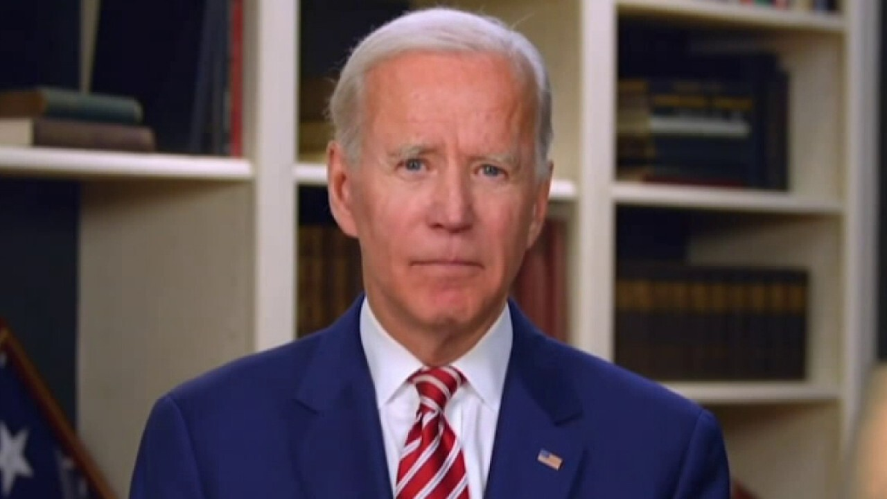 Biden takes veiled swipe at Trump during Columbia Law School commencement speech
