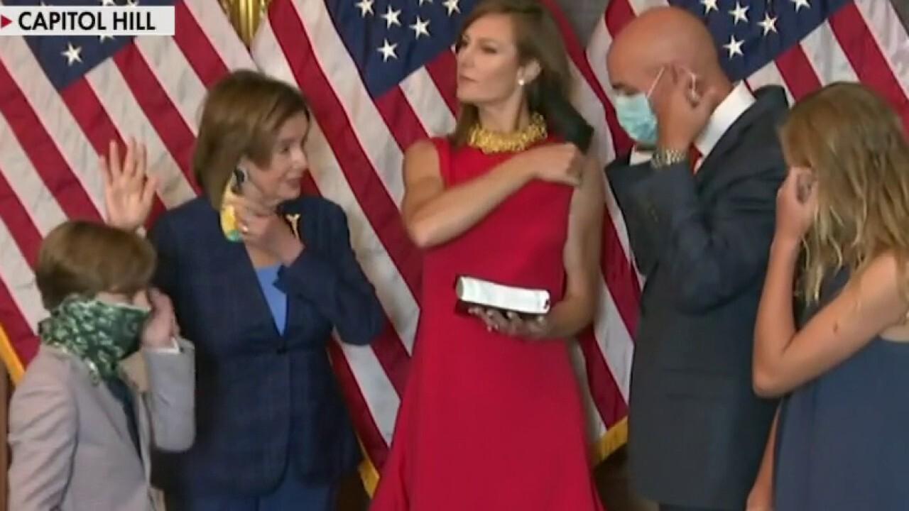COVID 'hypocrite' Nancy Pelosi already breaks her own policy