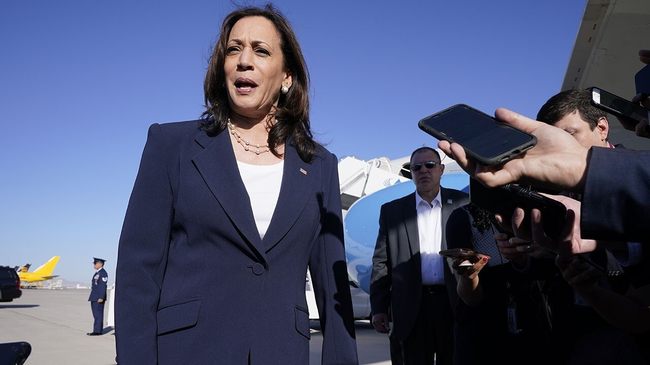 VP Kamala Harris blames Trump administration for border crisis