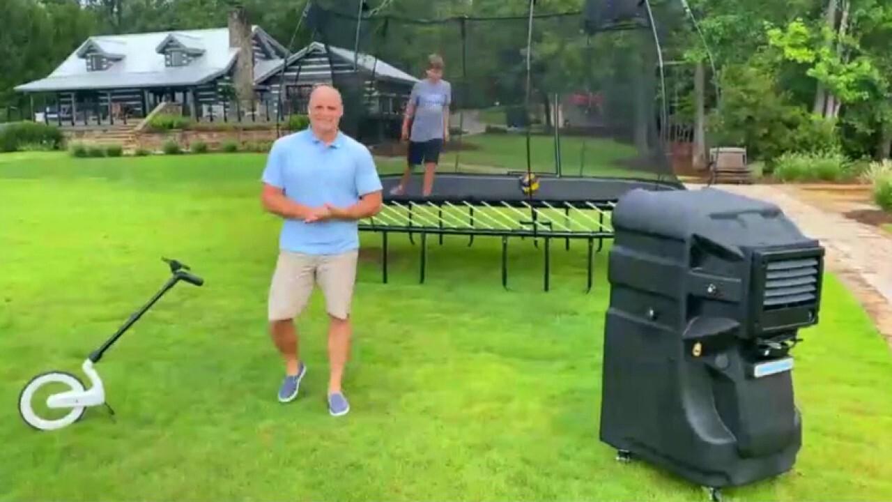 DIY expert Chip Wade reveals tips for fun backyard setups