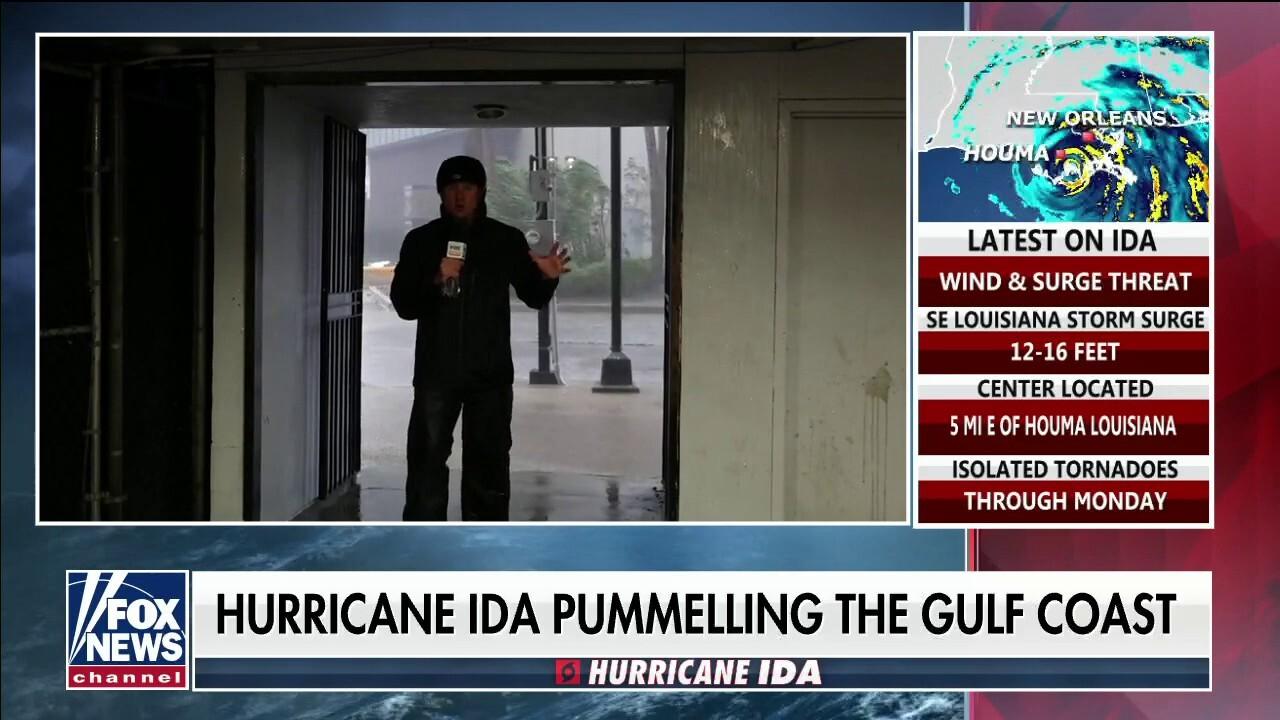 Hurricane Ida lashes Gulf Coast with rain, powerful winds