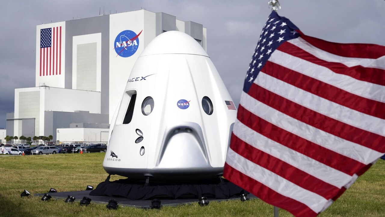 SpaceX, NASA set for historic launch to International Space Station