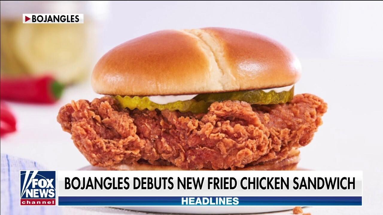 Bojangles debuts new fried chicken sandwich