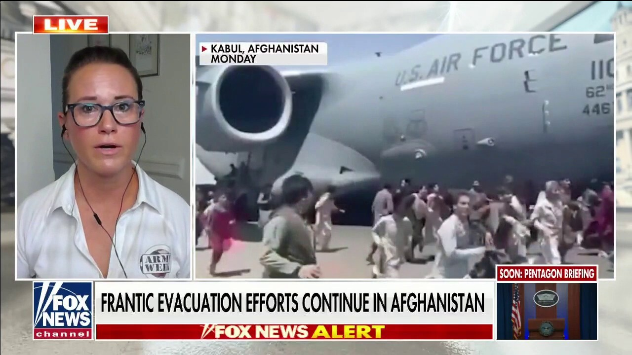 Frantic evacuation efforts continue in Afghanistan