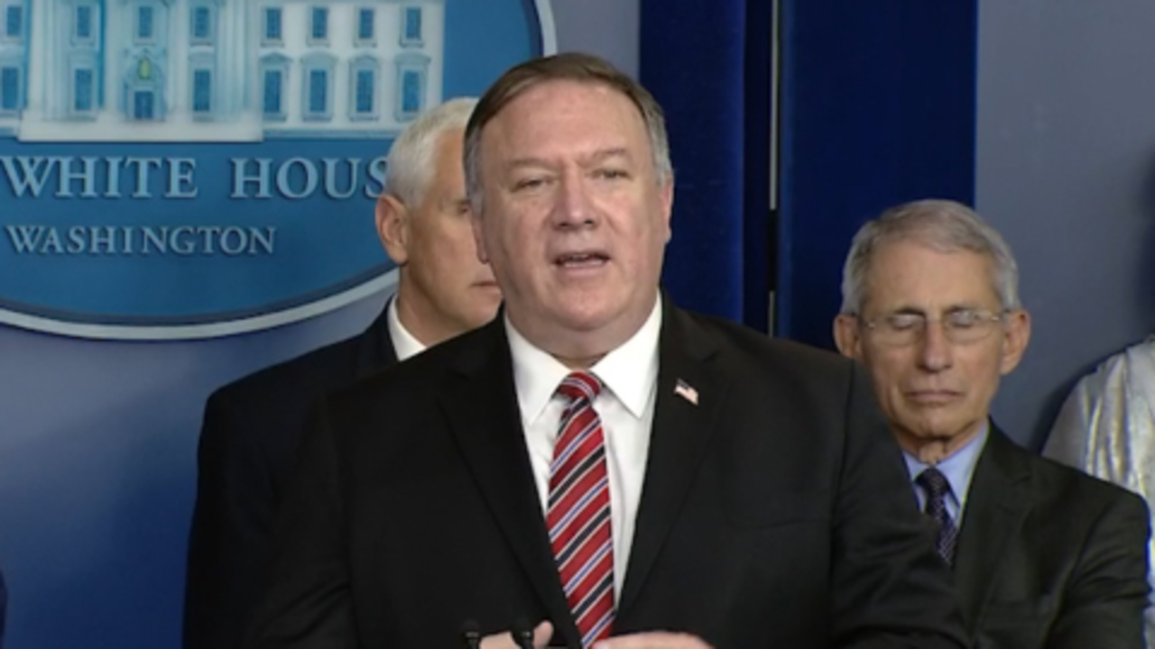 Sec. Pompeo urges Americans to be wary of disparaging disinformation