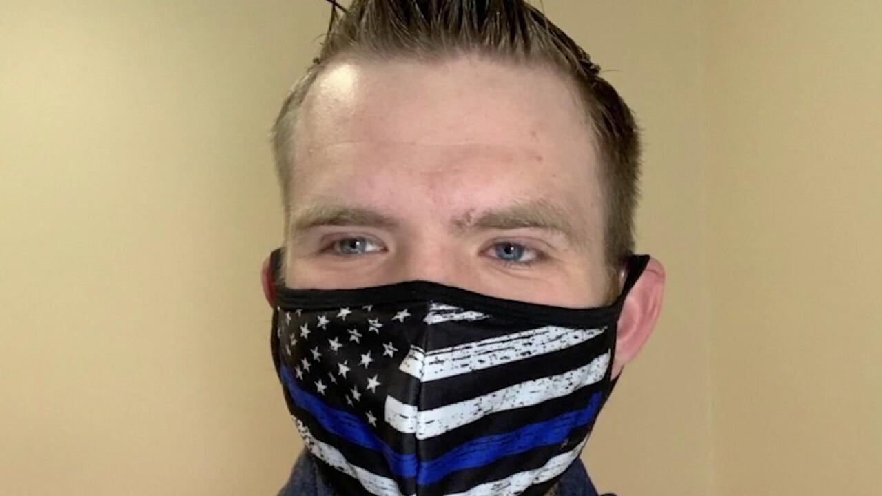 Student's Blue Lives Matter mask draws backlash