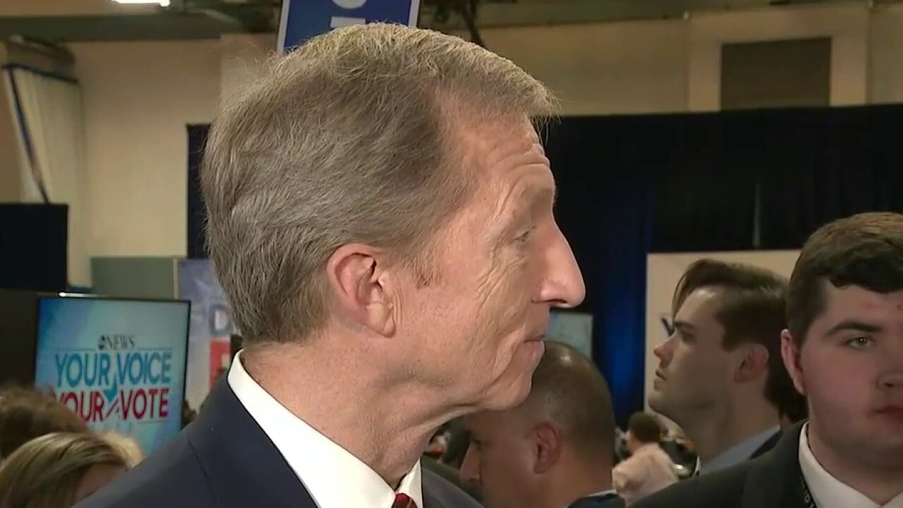 Tom Steyer talks about his differences with Joe Biden