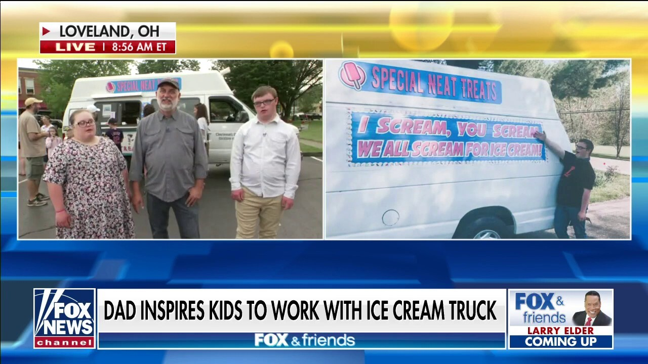 Ohio dad buys ice cream truck for kids with special needs