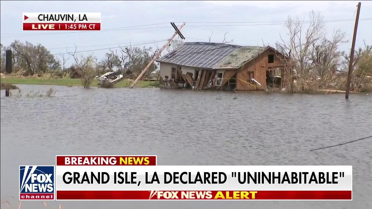 Hurricane Ida leaves parts of Louisiana feeling like a 'third world country'