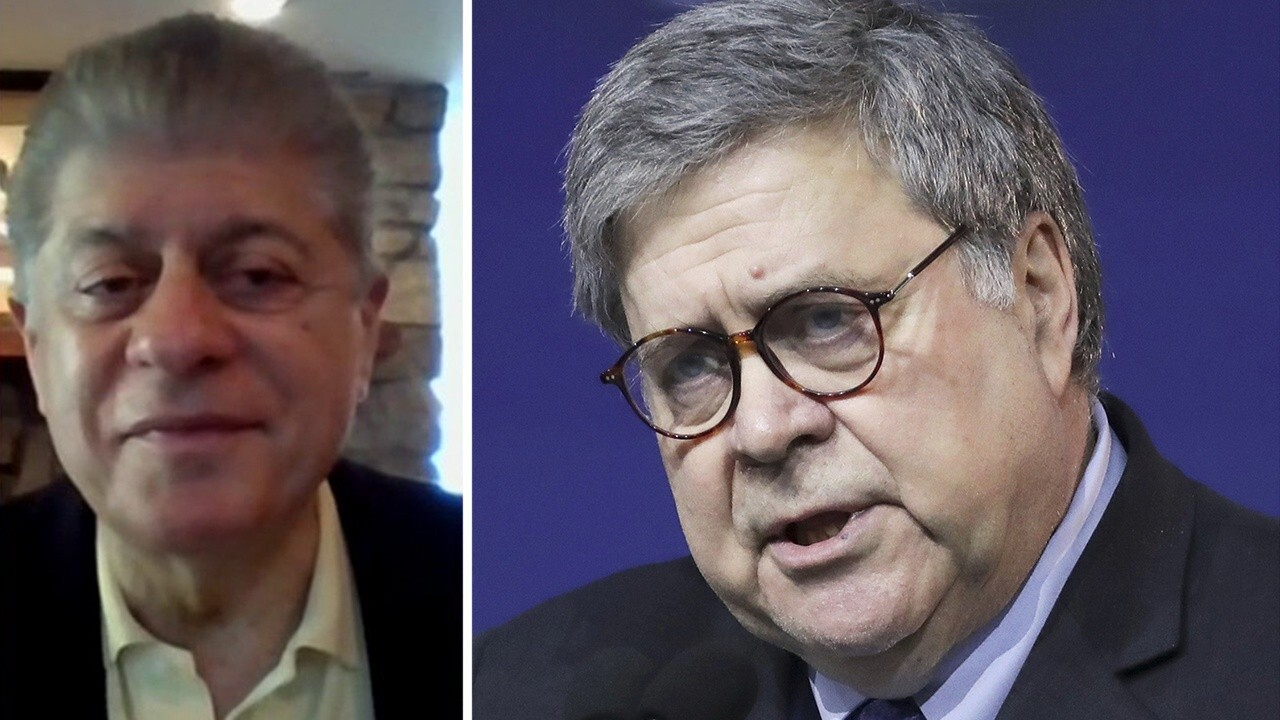 Napolitano: Barr has done the unthinkable -- he admitted he was wrong