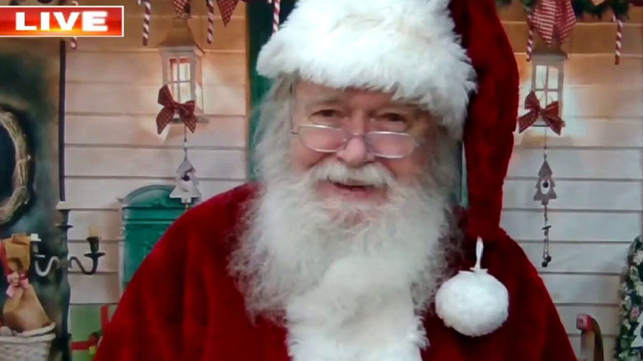 Santa Claus answers questions from 'Fox & Friends' viewers