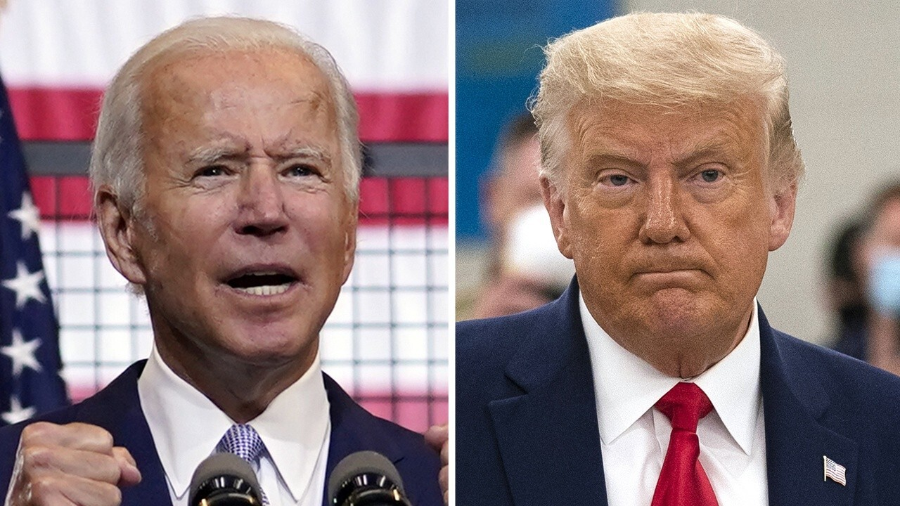 Poll numbers tighten for Biden and Trump as mail-in ballots begin to go out