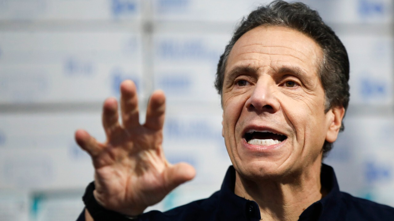 Cuomo urges government to prioritize NY for medical equipment