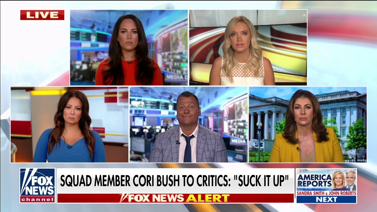 'Outnumbered' blasts Cori Bush's push to defund the police: 'Security for me but not for thee'