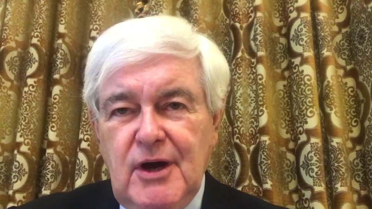 Dems engaged in 'game of chicken' over COVID-19 aid package: Newt Gingrich