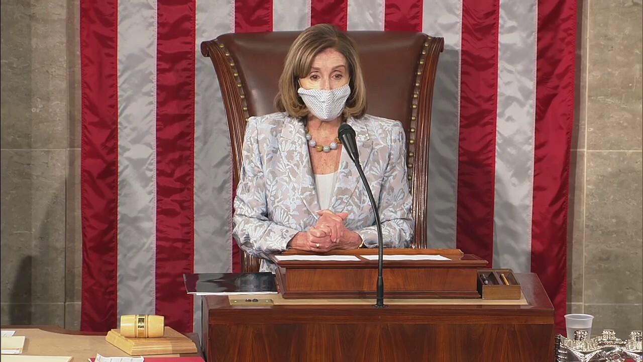 House abandons COVID protocols during Pelosi reading oath