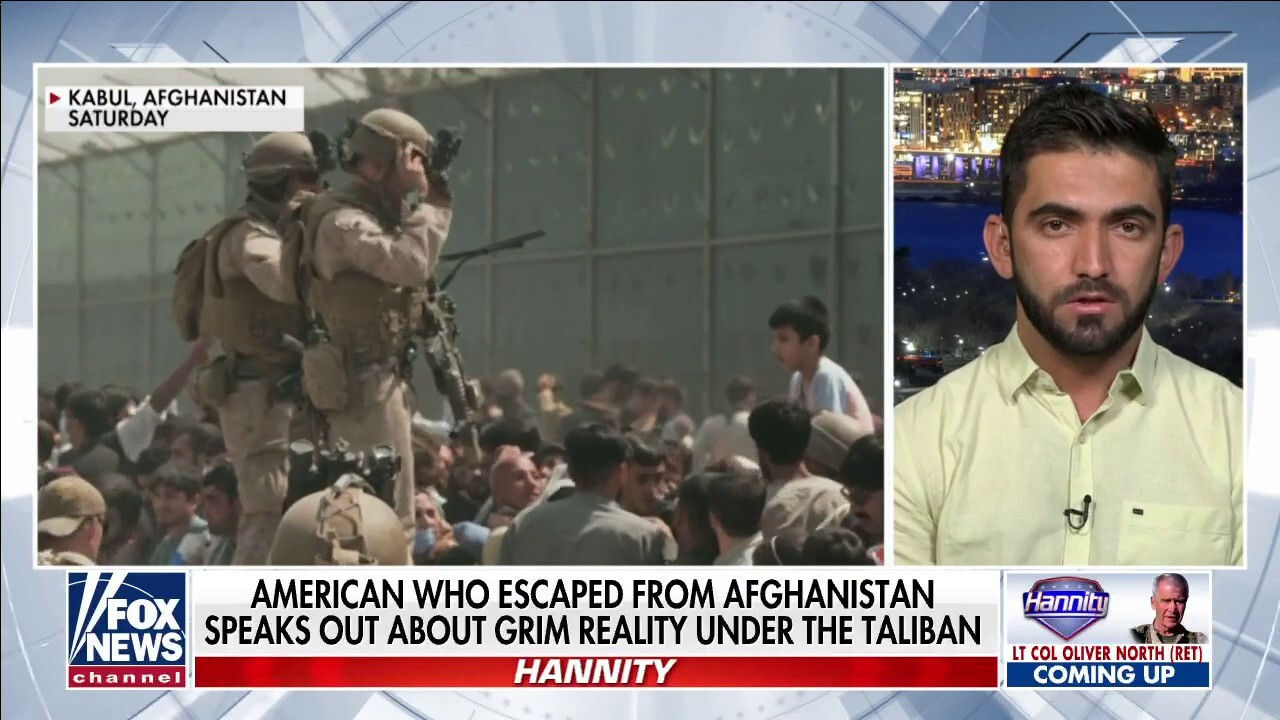 American who escaped from Afghanistan speaks out about grim reality under Taliban