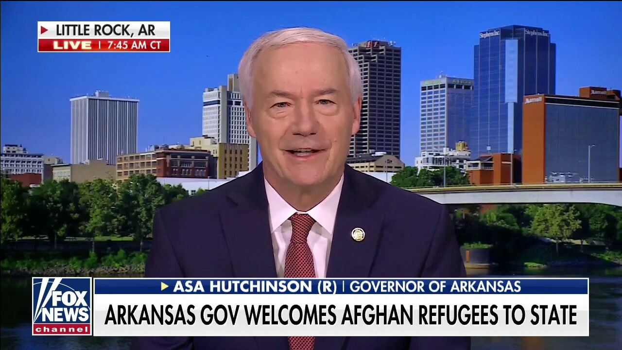Arkansas governor: We cannot leave behind Afghans who helped American troops