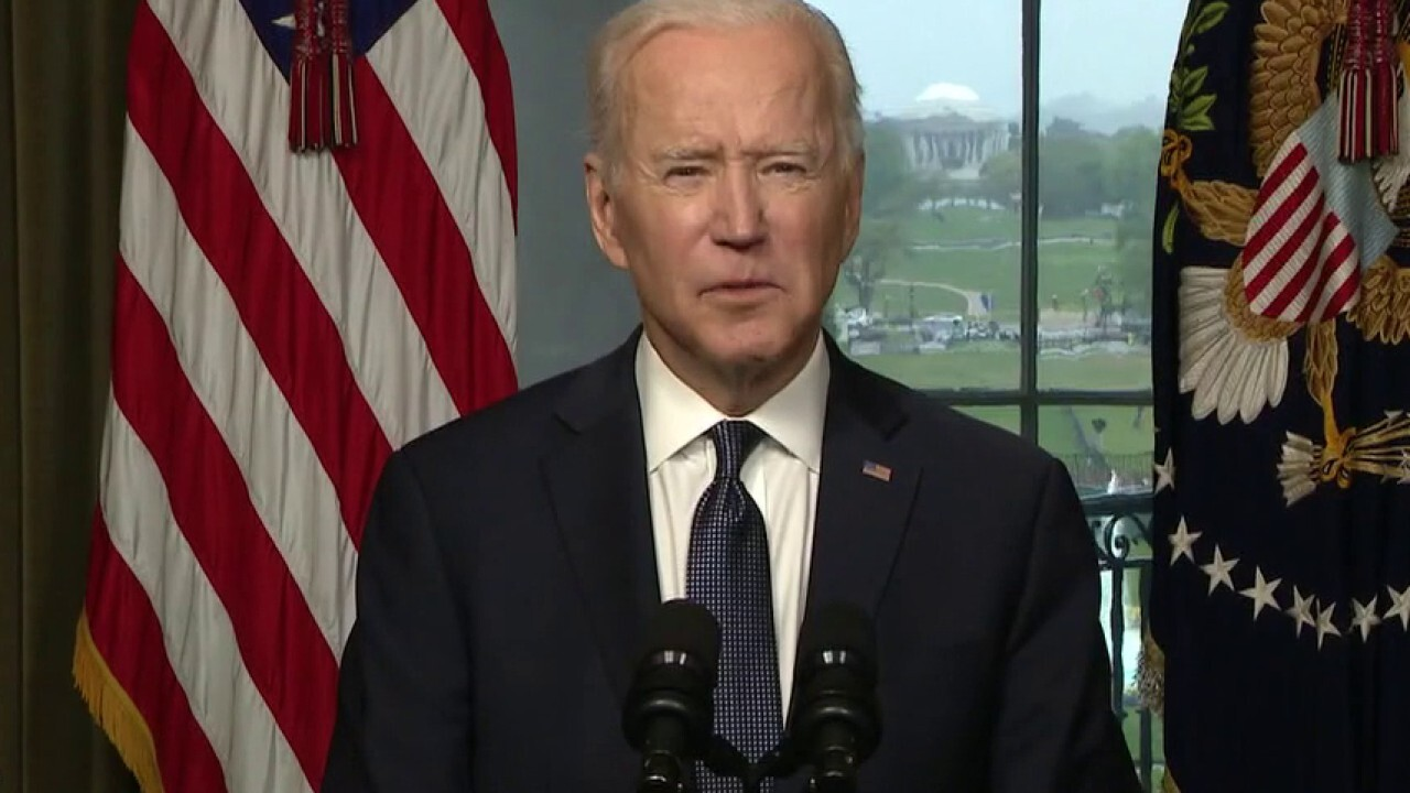 Biden announces withdrawal of troops from Afghanistan to begin May 1