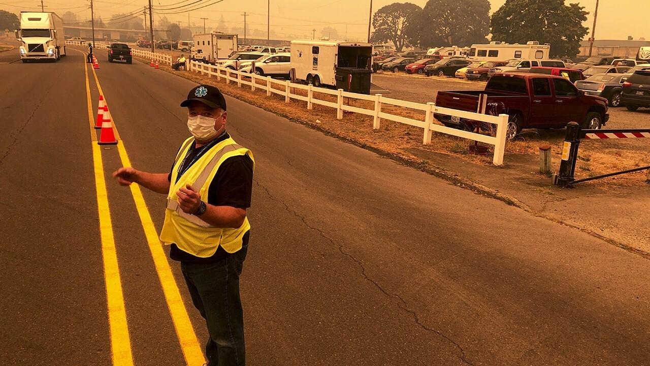 Wildfires prompt evacuation across Oregon