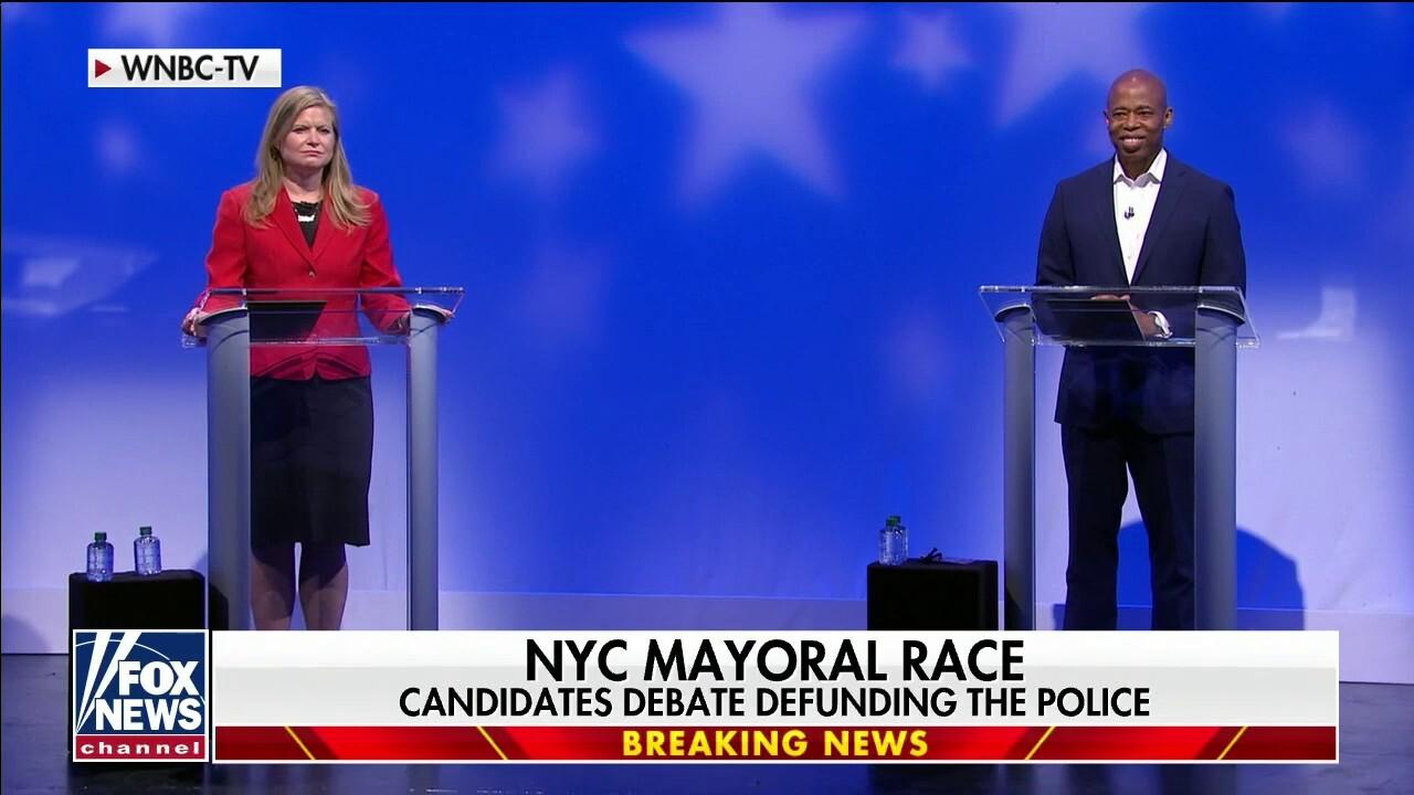 NYC Democratic mayoral candidates debate policing amid crime surge