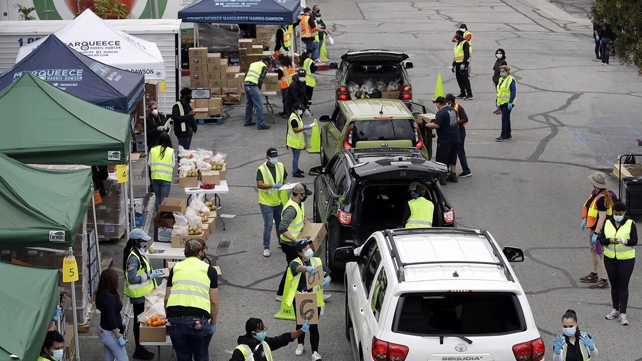 Food banks across America face skyrocketing demand during COVID-19 pandemic