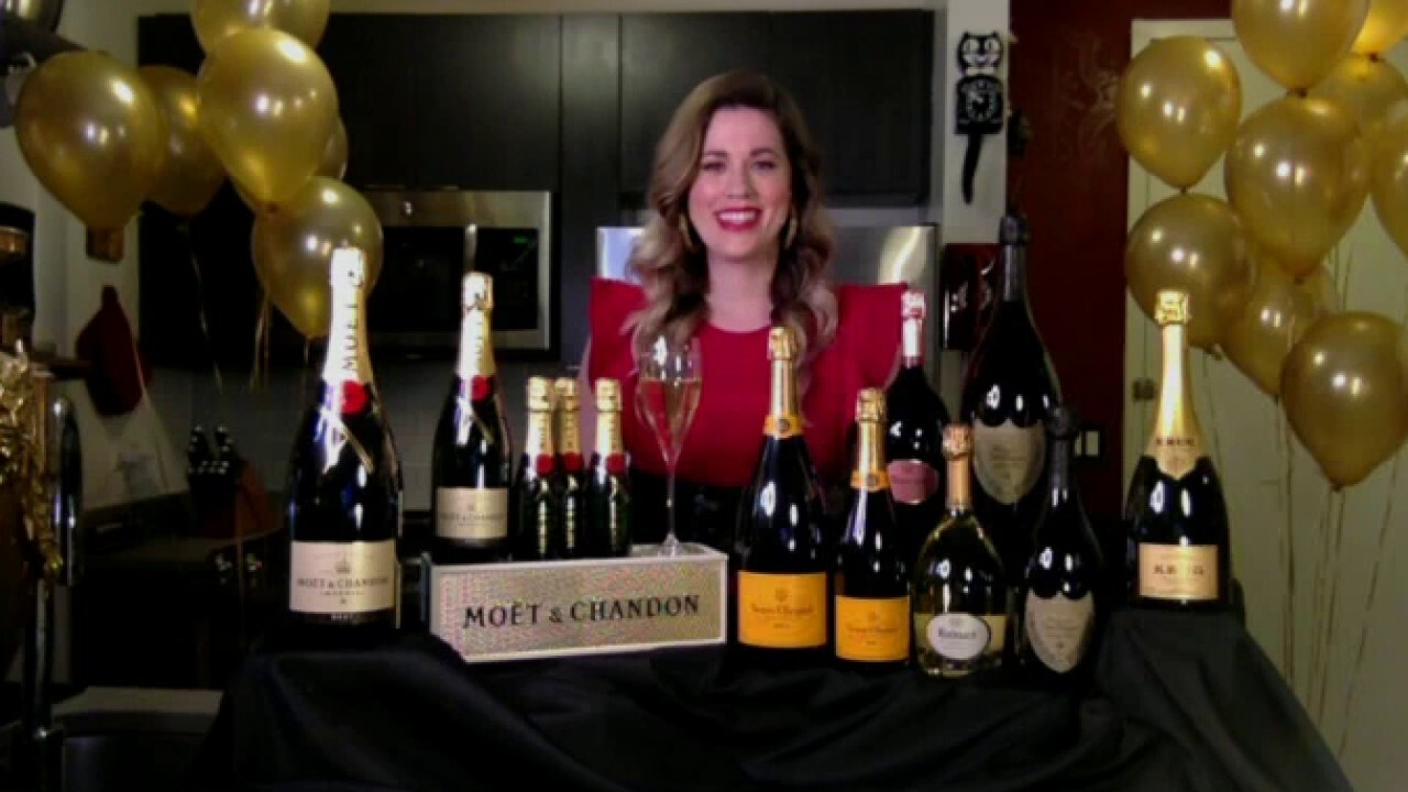 How to choose the perfect bottle of champagne for New Year's