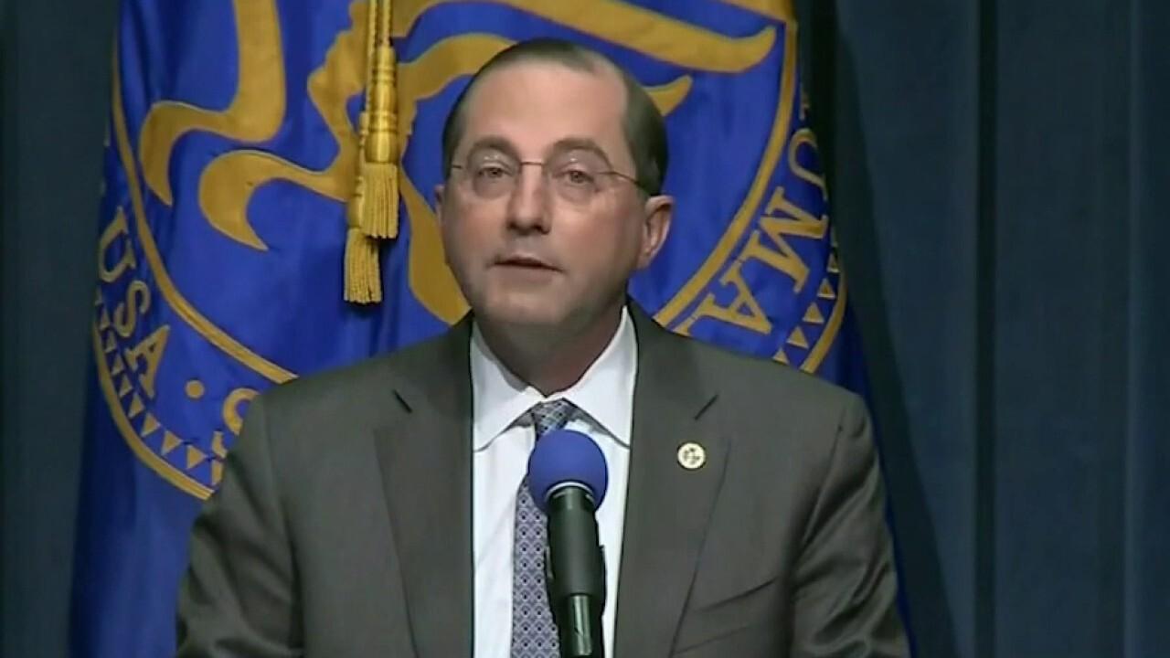 Azar encourages states to move vaccines as quickly as possible