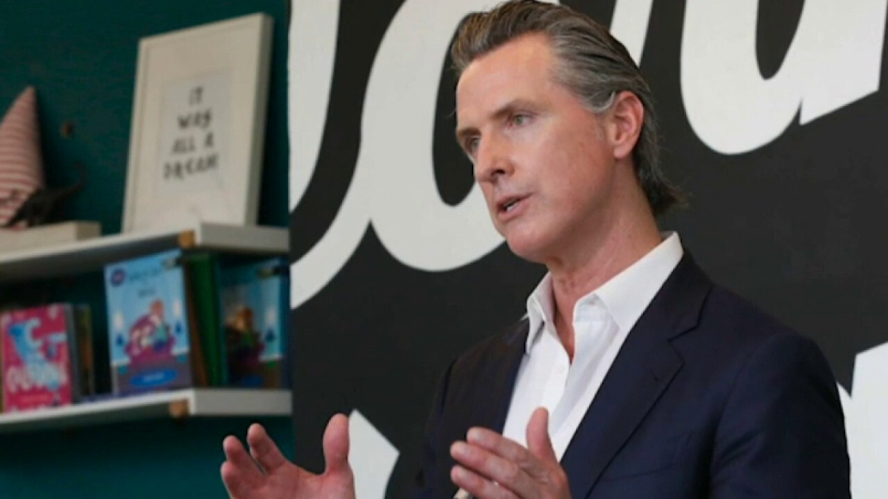 Group organizes petition to recall California Gov. Gavin Newsom