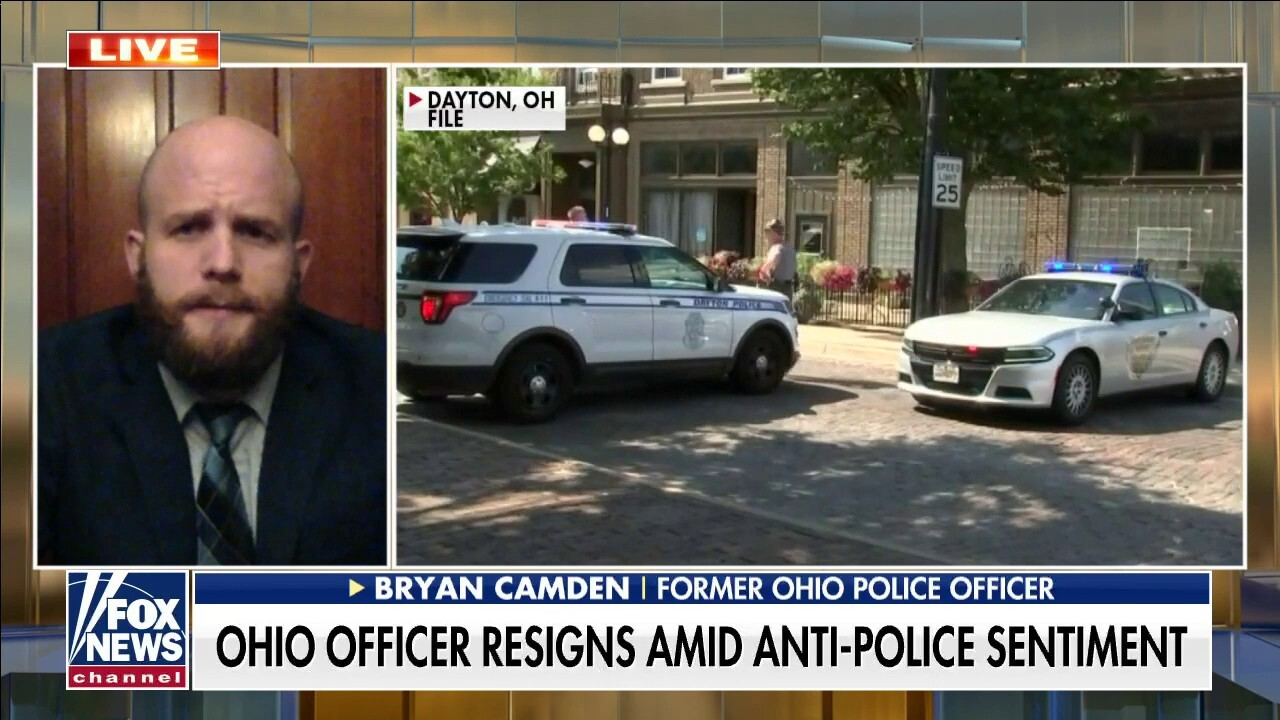 Ohio officer on resigning: Cops often become the victims