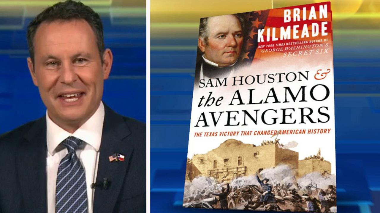 Brian Kilmeade's 'Sam Houston and the Alamo Avengers' celebrates paperback release with Fox Nation special