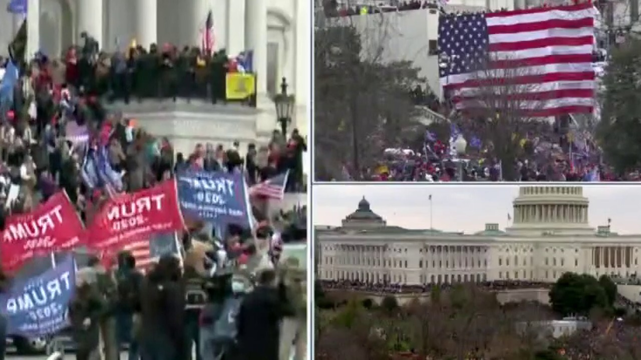 Chaos breaks out at Capitol as segment of Trump supporters break in