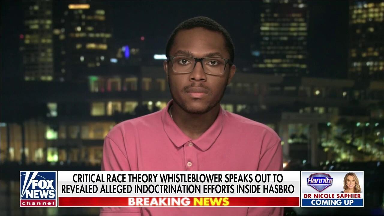 Hasbro whistleblower David Johnson speaks out on CRT training